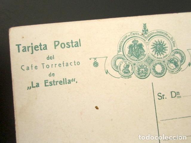 Postales: POSTAL PUBLICITARIA. CAFE TORREFACTO DE LA ESTRELLA. - Foto 2 - 126982739