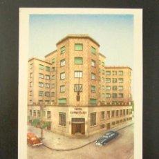 Postales: POSTAL PUBLICITARIA. HOTEL CONDESTABLE, BURGOS. . Lote 127037083