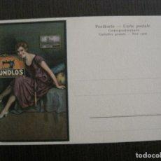 Postales: MUNDLOS - MAQUINAS COSER - POSTAL ANTIGUA PUBLICIDAD -VER FOTOS-(53.111). Lote 127253027