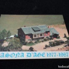Postales: CASONA D, AGE PUIGCERDA. Lote 128515407