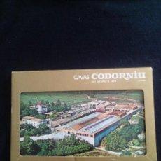 Postales: CINCO POSTALES PROMOCIONALES CAVAS CODORNIU. Lote 128806971