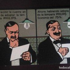 Postales: LÁMPARA PHILIPS. SIN CIRCULAR.. Lote 128813567