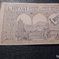 Postales: L'ARXIU - LLIBRERIA DE JOAN BTA.BATLLE AV. 14 ABRIL ( DIAGONAL ) 442 BARCELONA ILUST. J. JUTGLAR . Lote 129140291