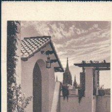 Postais: BARCELONA, ALMACENES JORBA, RINCON DEL PATIO, LA CATEDRAL AL FONDO - HUECOGRABADO DEO Nº 11 - S/C. Lote 129357051