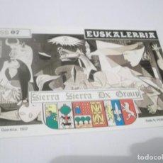 Postales: PUBLICIDAD AÑOS 70- POSTAL EMISORA RADIOAFICIONADO ,GUERNICA 1937-PICASSO - SIERRA SIERRA DX GROUP. Lote 130381570