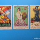 Postales: 3 BONITAS POSTALES PUBLICITARIAS DE FRUTA - MORELL, PENAGOS. Lote 130425422