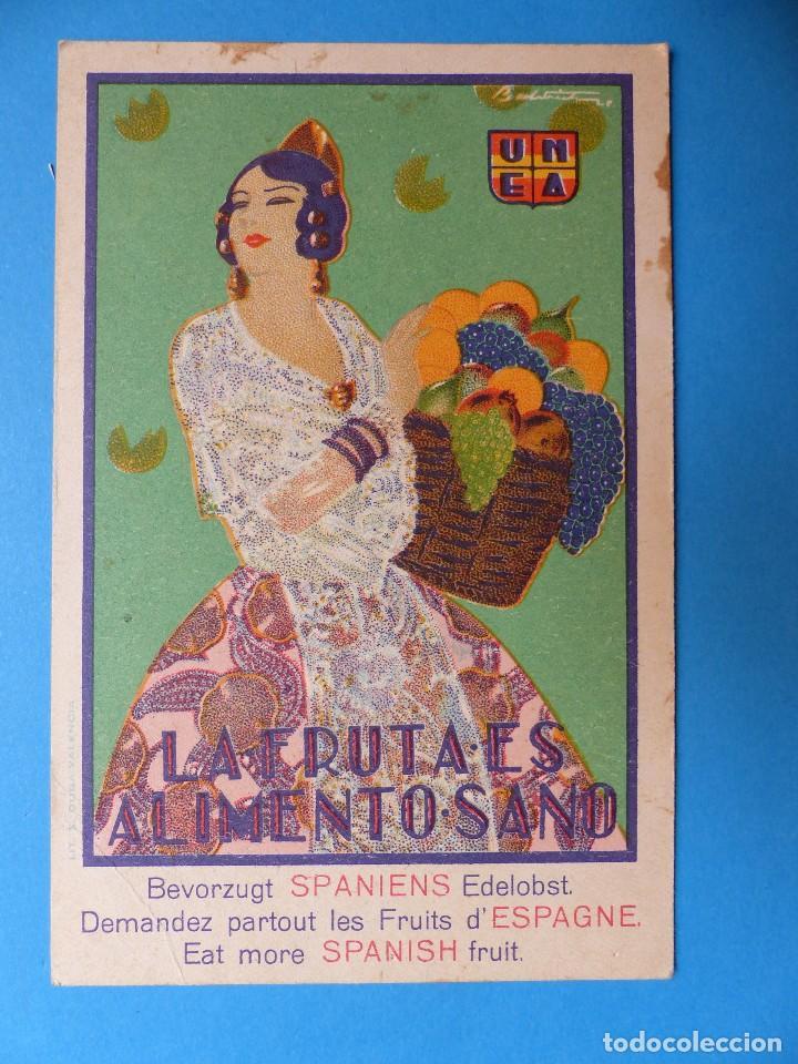 Postales: 3 BONITAS POSTALES PUBLICITARIAS DE FRUTA - MORELL, PENAGOS - Foto 4 - 130425422