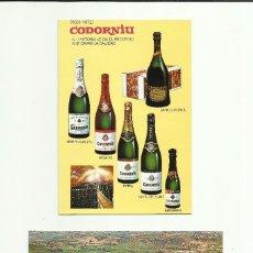 Postales: LOTE DE POSTALES PUBLICITARIAS DE CODORNIU. Lote 130894684