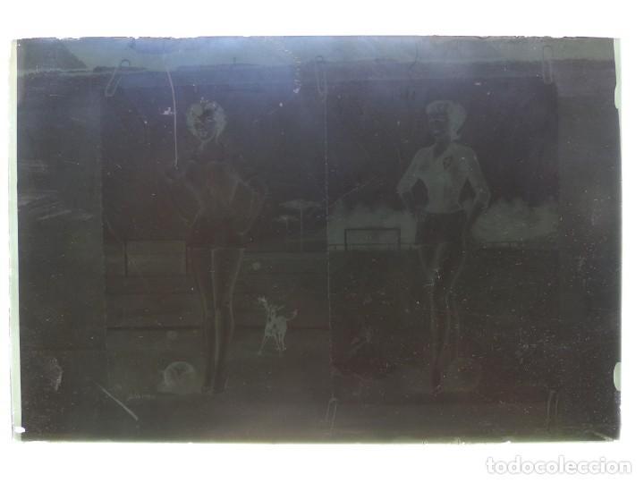 Postales: DIBUJOS CHICAS FUTBOLISTAS FUTBOL - 8 CLICHES ORIGINALES - NEGATIVOS EN CRISTAL - EDICIONES ARRIBAS - Foto 10 - 131355782