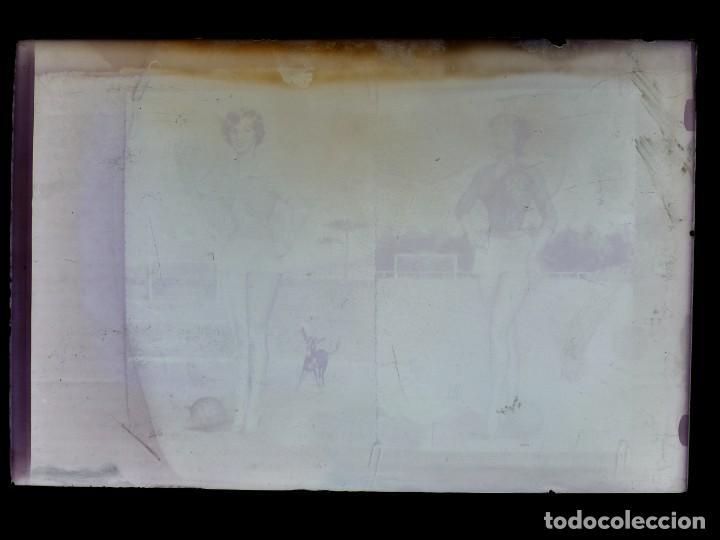 Postales: DIBUJOS CHICAS FUTBOLISTAS FUTBOL - 8 CLICHES ORIGINALES - NEGATIVOS EN CRISTAL - EDICIONES ARRIBAS - Foto 11 - 131355782