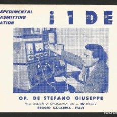 Postales: RADIOAFICIONADO - REGGIO CALABRIA - ITALIA 1964. Lote 133559914