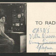 Postales: RADIOAFICIONADO - TESERO TRENTO - ITALIA 1960. Lote 133560358