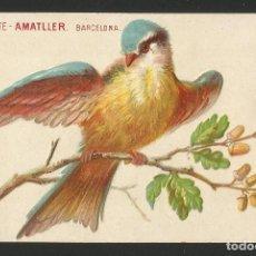 Postales: CHOCOLATES AMATLLER - BARCELONA - P26475. Lote 133581846