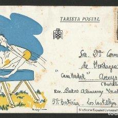 Postales: SINDICATO ESPAÑOL UNIVERSITARIO SEU - BARCELONA - P26475. Lote 133586314