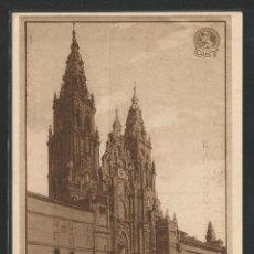 Postales: VISITAD SANTIAGO DE COMPOSTELA - COMPAÑÍA ESPAÑOLA DE TURISMO BARCELONA - P26475. Lote 133593298