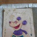 Postales: 1937 - SEVILLA - EPOCA GUERRA CIVIL - FRASE PATRIOTICA - ALMACENES CONTRERAS - MICKEY MOUSE. Lote 136135706
