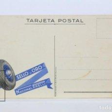 Postales: POSTAL PUBLICITARIA - PIRELLI - SELLO DE ORO - NACIONAL PIRELLI - NEUMÁTICOS - COCHES. Lote 136544878