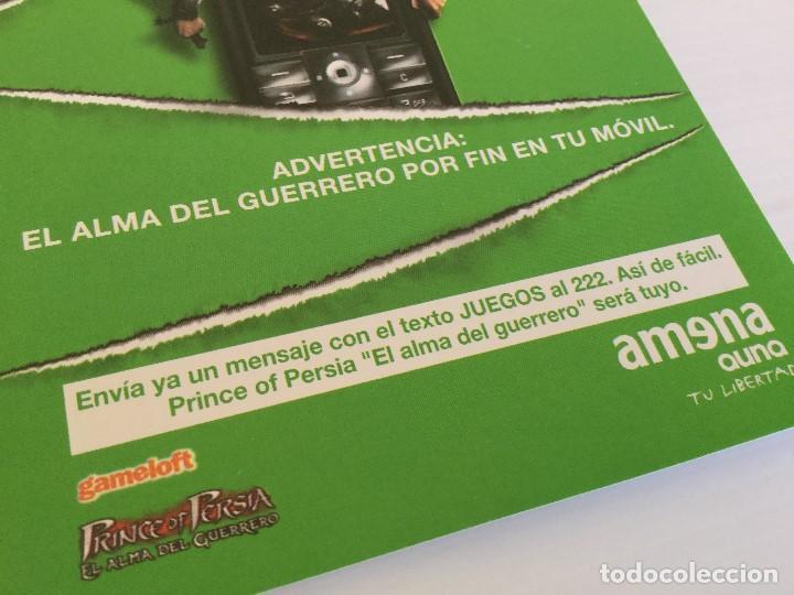 Postales: Postal publicitaria Amena Auna – Prince of Persia - Gameloft - Foto 3 - 137895670