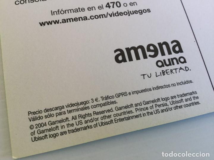 Postales: Postal publicitaria Amena Auna – Prince of Persia - Gameloft - Foto 5 - 137895670