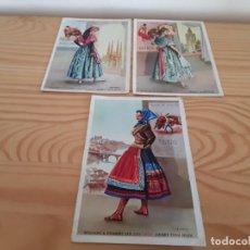 Postales: POSTALES PUBLICIDAD DRY SACK. VALENCIA, TOLEDO, BARCELONA. Lote 139474994