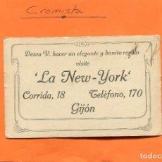 Postales: RELOJERIA, PLATERIA Y JOYERIA ' LA NEW-YORK ' ( GIJON ) -- ESCRITA // ( NOV2018-3 ). Lote 140322474