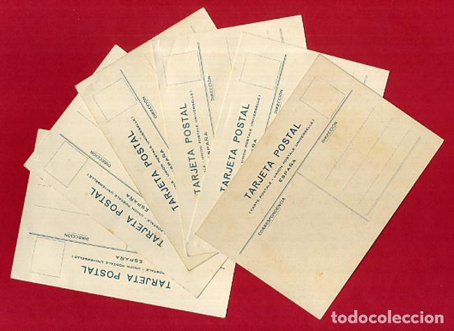 Postales: LOTE DE 6 POSTALES PUBLICITARIAS, GALLETAS Y BIZCOCHOS LA GLORIA, ORIGINALES . L6 - Foto 2 - 140525810