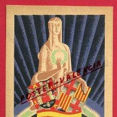 Postales: POSTAL PUBLICIDAD, EXPOSICION GENERAL ESPAÑOLA , SEVILLA 1928 BARCELONA 1929 , ORIGINAL , P460. Lote 140635738