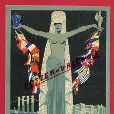 Postales: POSTAL PUBLICIDAD, EXPOSICION GENERAL ESPAÑOLA , SEVILLA 1928 BARCELONA 1929 , ORIGINAL , P464. Lote 140636126