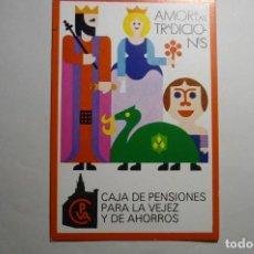 Postales: POSTAL AMOR A LAS TRADICIONES -EDITA CAJA PENSIONES VEJEZ Y AHORROS. Lote 140688774