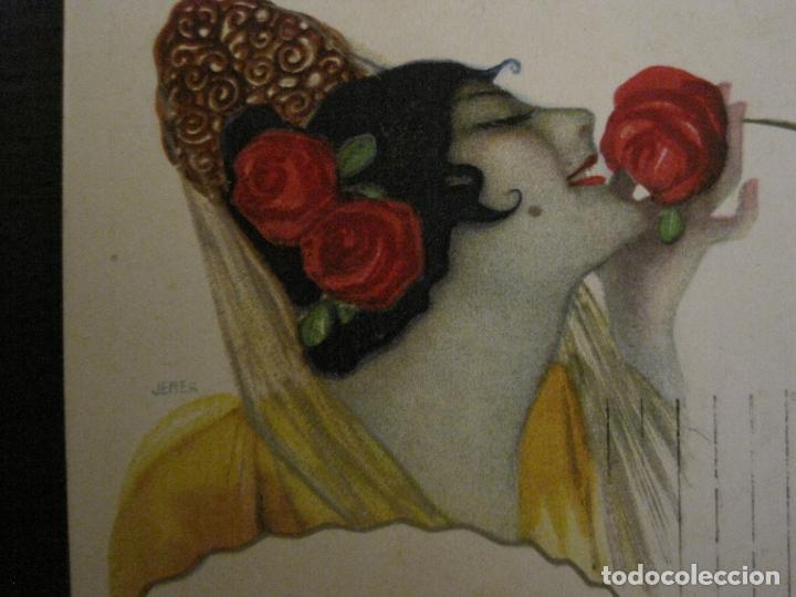 Postales: MYRURGIA BARCELONA PERFUMERIA ESPAÑOLA-POSTAL ANTIGUA PUBLICITARIA-(54.821) - Foto 2 - 142612310