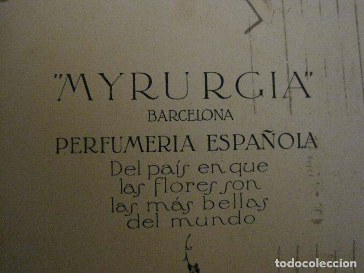 Postales: MYRURGIA BARCELONA PERFUMERIA ESPAÑOLA-POSTAL ANTIGUA PUBLICITARIA-(54.821) - Foto 4 - 142612310