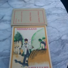 Postales: POSTAL BLOC COMPLETO 10 POSTALES SHERRY-LAND JEREZ VINOS WILLIAMS & HUMBERT. Lote 144609566
