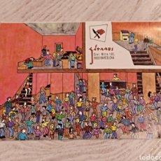 Postales: POSTAL DISCOTECA GITANES BARCELONA MITRE 1992. Lote 144736016