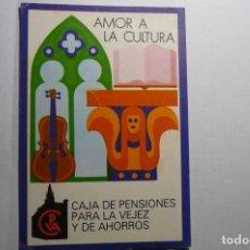 Postales: POSTAL AMOR A LA CULTURA .-CAJA PENSIONES VEJEZ Y AHORROS. Lote 144791646