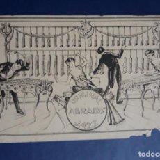 Postales: CIRCO, ESPECTACULOS, ARTISTAS. ORIGINAL ABRADYS JAZZ, GRUPO DE MUSICA. Lote 145046270
