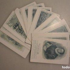 Postales: COLECCION DE TARJETAS POSTALES EL QUIJOTE. CHOCOLATES MATÍAS LOPEZ. Lote 146525770