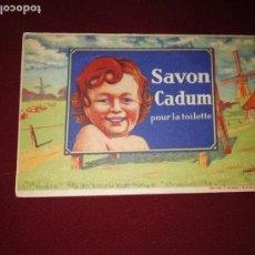 Postales: SAVON CADUM. POSTAL PUBLICITARIA. Lote 146939674