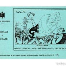 Postales: HOMENAJE A XAUDAÓ. LOTERÍA NACIONAL. PUBLICIDAD. Lote 147059210