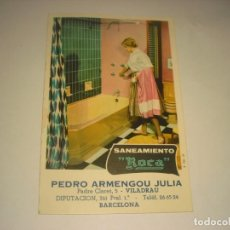 Postales: SANEAMIENTO ROCA . PEDRO ARMENGOU, VILADRAU. Lote 147924626