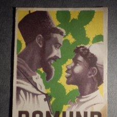 Postales: POSTAL - DOMUND - 19 DE OCTUBRE 1947 - ESCRITA - SIN COLETILLA DE AYUDAD A LAS MISIONES. Lote 148545538