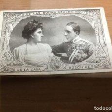 Postales: RECUERDO BODAS REALES 1906 . Lote 149399950