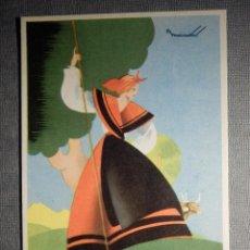 Postales: POSTAL PUBLICITARIA - ESPECIALIDAD FARMACEUTICA - FOSFORO FERRERO - SIN CIRCULAR . Lote 150503590