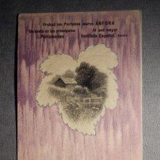 Postales: POSTAL PUBLICITARIA - PERFUMES MARCA ANFORA - INSTITUTO ESPAÑOL, SEVILLA . Lote 150503618