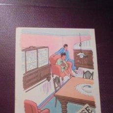 Postales: TARJETA POSTAL COMERCIAL DE CREDITO R.C. ILUSTRADA POR V. CASTANYS- 14X9 CM. . Lote 151088238