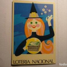 Postales: POSTAL LOTERIA NACIONAL -DIBUJO JOSE ALVAREZ. Lote 151312698