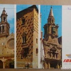 Postales: POSTAL IBERIA LINEAS AEREAS DE ESPAÑA. CORDOBA SALAMANCA CADIZ. Lote 151996534