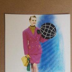 Postales: POSTAL PUBLICIDAD GLOBE, JEANS, ROPA. Lote 152172010