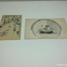 Postales: LOTE POSTAL TARJETA PUBLICITARIA NESTLE - EDICION EN FRANCES - NESTLE. Lote 154503186
