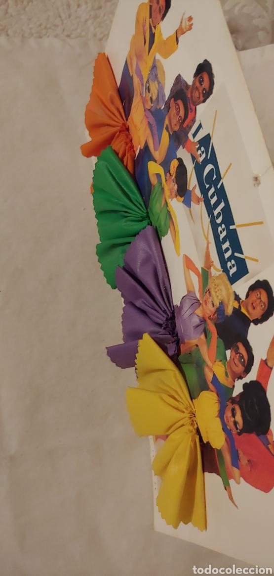 Postales: gran postal con peana grupo teatral La Cubana - Foto 2 - 153389014