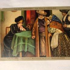 Postales: POSTAL ANTIGUA: LA HIJA PRÓDIGA EDITA: LA GLORIA, GALLETAS Y BIZCOCHOS. BARCELONA (H.1930?. Lote 156006745